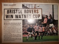 bristol rovers win watney cup