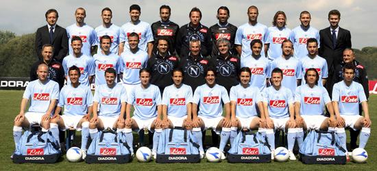Plantilla del Napoli en Serie B 2006-2007
