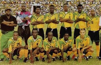 Selección jamaicana de fútbol 1997