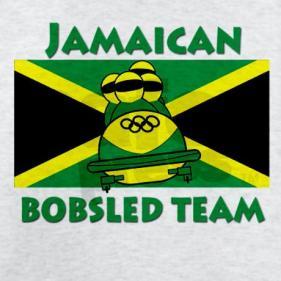 Bandera no oficial del equipo de Bobsleigh de Jamaica