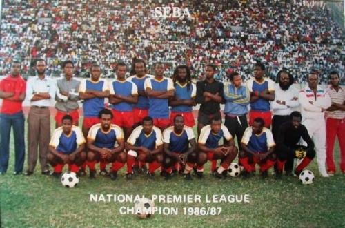 Seba United Jamaica 1987