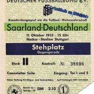 deutschland - saarland 1954