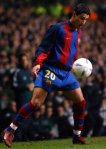 Soccer – UEFA Cup – Fourth Round – First Leg – Celtic vBarcelona