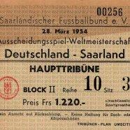 saarland - deutschland 1954