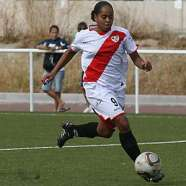 Jade Boho delantera del Rayo Vallecano