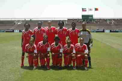 Selección felemenina Guinea Ecuatorial 2010